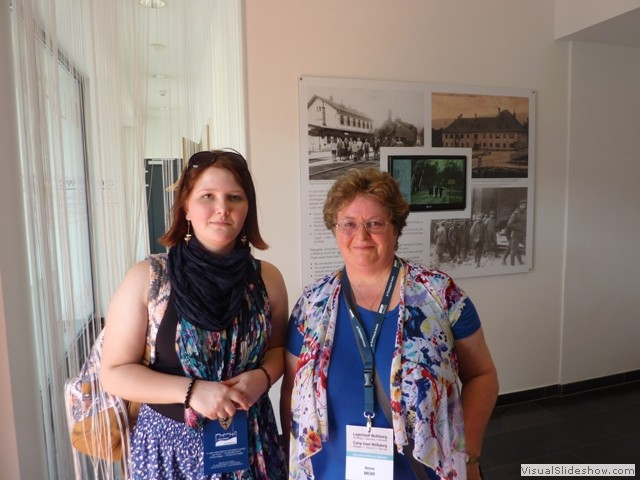 Anne Moir & Laura Spencer from New Zealand