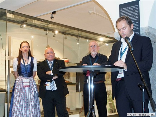 Christian outlines how the exhibition came together
